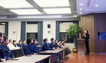Shaping the professional image and displaying the style of Hengda, Hengda Group conducts a special training session on business etiquette
